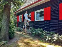Farbe und Lack Fassade