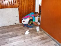 Fußboden-PVC