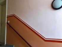 Treppenhaus-Rekonstruktion